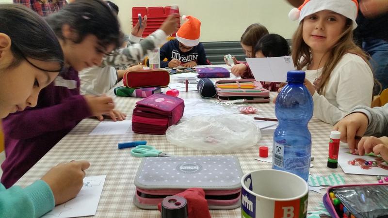 Weihnachtsbasteln 4 Klasse.Gemeinschaftsgrundschule Weihnachtsbasteln